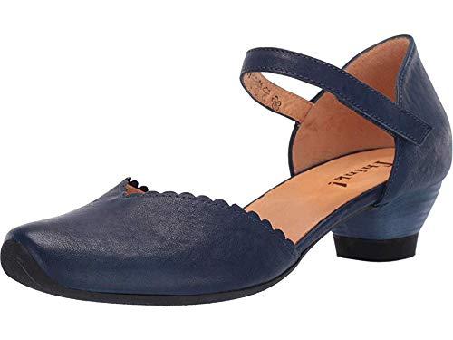 Mary Indigo Janes Leather (Think! Women's Aida - 84249 Indigo 37 B EU)