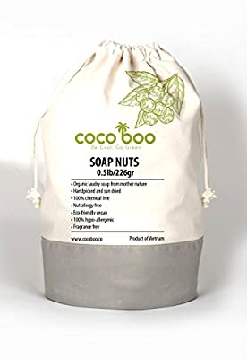 Cocoboo 100% Organic Soap Nuts   Handpicked & Sun Dried   Laundry Soap