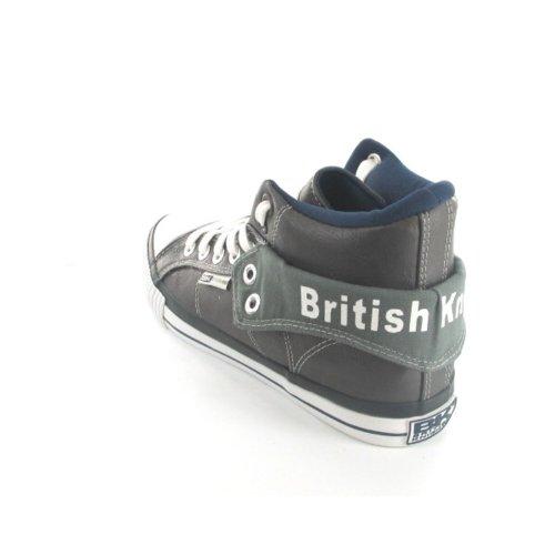 British Knights - Zapatillas de baloncesto de material sintético para hombre gris - gris