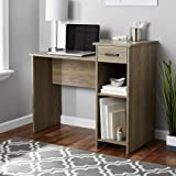 Students/Furniture Office Computer Desk with Adjustable Shelf and Easy-Glide Drawer in Rustic Oak