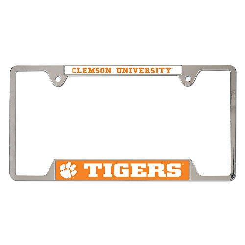WinCraft NCAA Clemson University Metal License Plate Frame ()