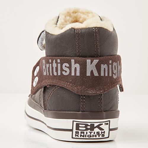Alte British Ragazzo Knights Marrone Roco Marrone Knights Scuro Scarpe da Ginnastica qxgPB8Zw   970e10
