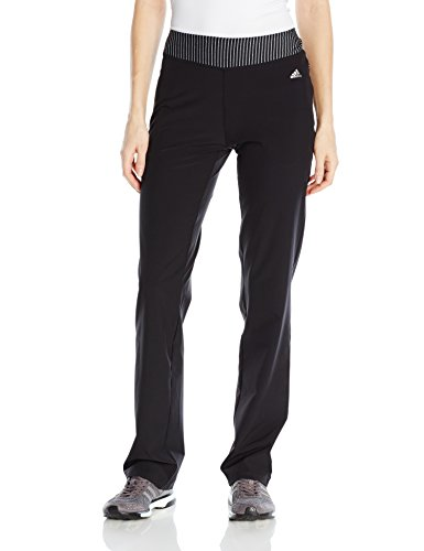 adidas Golf Women's Range Wear Pants, Black, (Women Range)