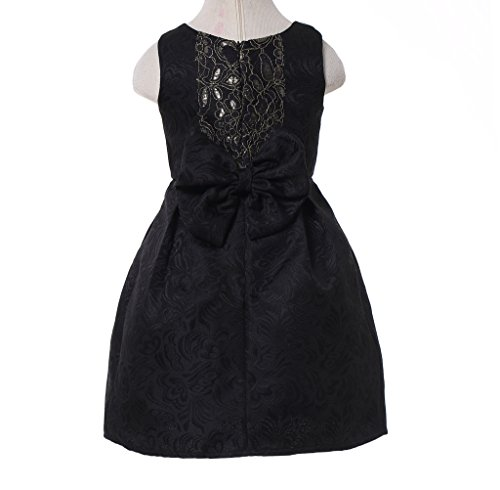 Happy Rose Girl's Dress Vintage For Special Occasion Black 2