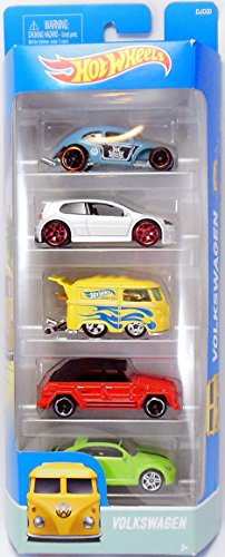 Hot Wheels, 2016 Volkswagen 5-Pack (Hot Wheels Vw)