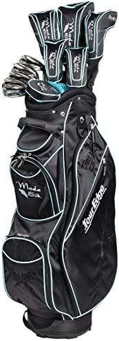 Tour Edge Women s Moda Silk Golf Complete Set Black Sea Green