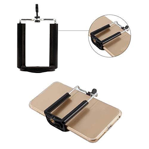Finedayqi ❤ Phone Tripod Mount Holder Clip Clamp Bracket Monopod Selfie Stick Stand Adapter