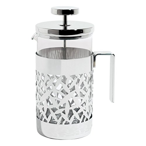 Alessi MSA12/8 Cactus Press Filter Maker, Silver by Alessi