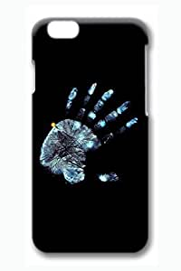 Case Cover For Apple Iphone 6 4.7 Inch 3D Fashion Print Drop Protection Case Cover For Apple Iphone 6 4.7 Inch Gleaming Handprint Scratch Resistant es