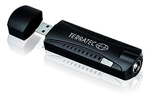 Terratec Cinergy T-Stick+ - Sintonizador de TV (DVB-T, USB, DAB, DAB+) (importado)