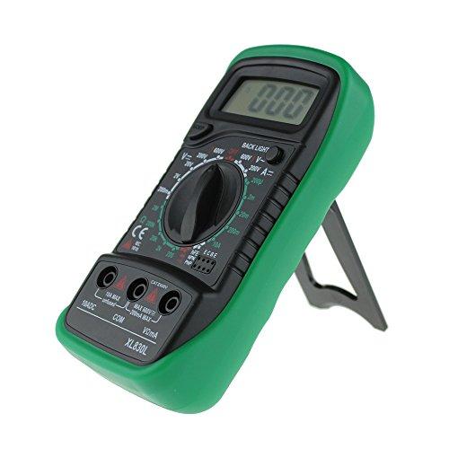 Amazon.com: AopnHQ XL-830L Handheld LCD Digital Multimeter 3 1/2 Voltmeter Ohmmeter Multitester F7 Green: Electronics