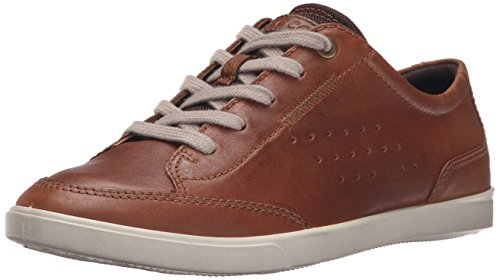 Ecco Hombres Collin Casual Tie Fashion Sneaker Whisky