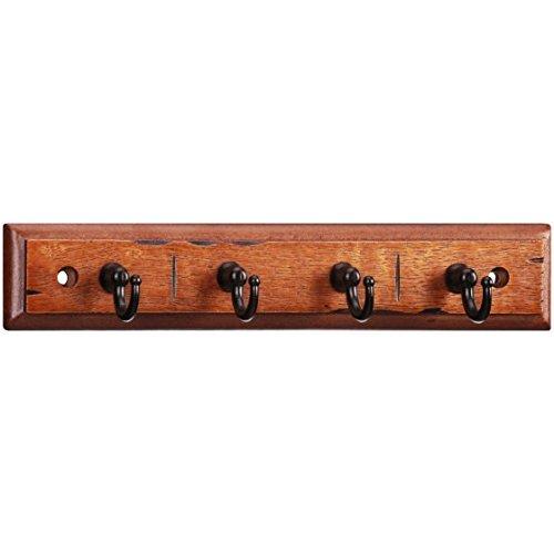 Chapter Antique Walnut with Bronze Finish Key Rack