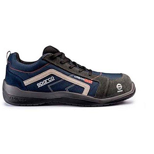 Sparco 0751847BMGR Zapatillas, Azul/Gris, 47 S0751847BMGR