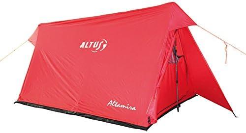ALTUS Altamira - Tienda de campaña, Color Rojo