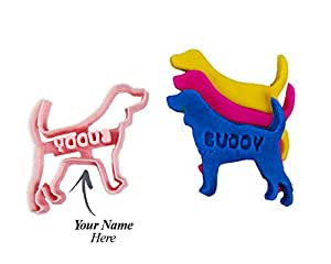 """Custom Beagle Dog Cookie Cutter: Personalize with your Pet's Name for Dog Treats STANDARD 3"""""""