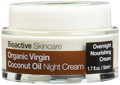 Organic Doctor Virgin Coconut Oil Night Cream, 1.7 Fluid Ounce