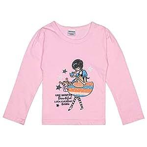 Veronica Like Winter Beautiful Printed T-shirt - Pink, 12-18 Months