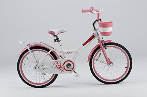 Royalbaby Jenny Princess Pink Girl's Bike with Kickstand and Basket, Perfect Gift for Kids, 20 inch wheels Best Price