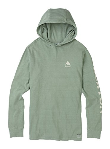 Burton Jersey Hooded (Burton Mtn Pullover Hoodie, Lily Pad, XX-Large)