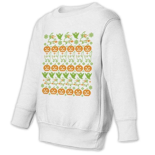 N1Ab1ns7KGyupX Ugly Halloween Sweater Juvenile Funny Soft and Cozy Crewneck Cotton -