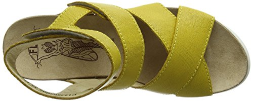 Fly London Wege669fly, Sandali Donna Giallo (Lemon 005)