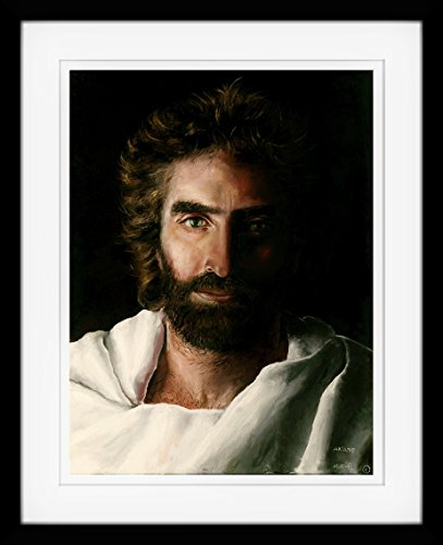 Prince of Peace, Art by Akiane Kramarik, Framed, Double Matted, 17-inch x 21-inch, Fine Art Print by Art & SoulWorks, LLC