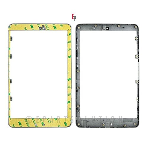 (ePartSolution-Asus Google Nexus 7 Silver Front Bezel Frame Faceplate Housing + Adhesive OEM Replacement Part USA Seller)