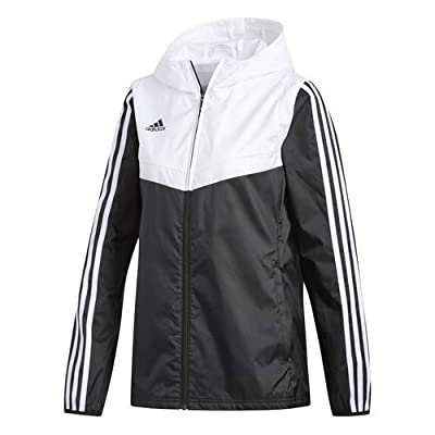 adidas Women's Alphaskin Tiro Windbreaker: Clothing