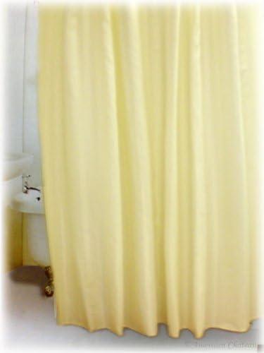 "Cream Solid Beige 70/"" X 72/"" Fabric Shower Curtain Bathroom Home Decor"