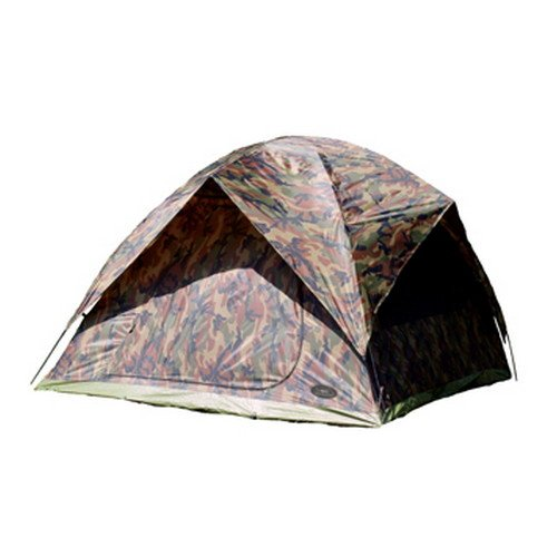 Texsport Headquarters Camoflauge 5-Person Square Dome -
