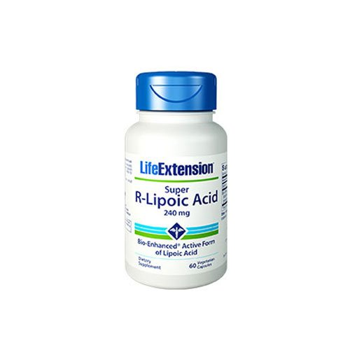 Super R-Lipoic Acid, 240 mg, 60 vcaps by Life Extension (Pack of 6)