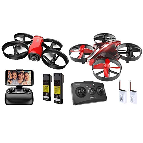 SANROCK U61W Drones for Kids with Camera+SANROCK GD65A Upgrade Mini Drones for Kids and Beginners