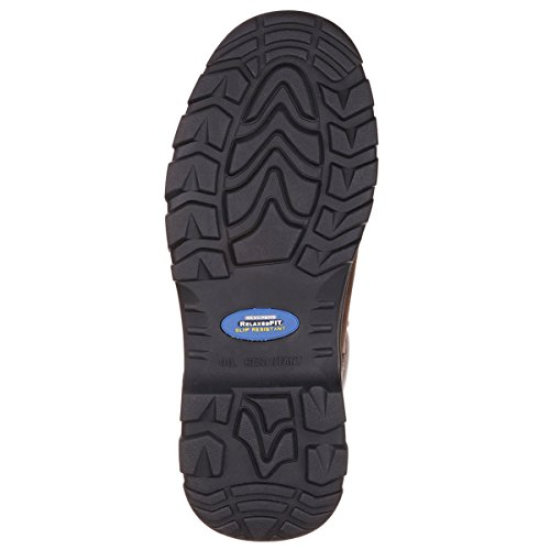 Skechers Workshire Steel Toe Boot Ankle High Brown Slip Resistant Memory Foam Work Shoe cheap wholesale price free shipping low price fee shipping cheap sale shop offer sale choice uqiQBKeoAE