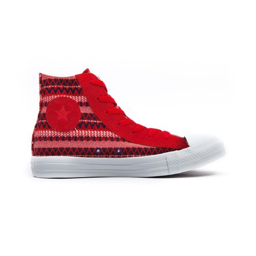 Converse All Star Hi Native Blanket Varsity Red / Blue - (Damen - 39 eu)
