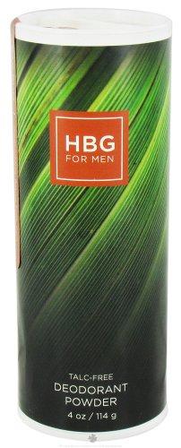 Honeybee Gardens Hommes Déodorant poudre Bay Rum - 4 oz