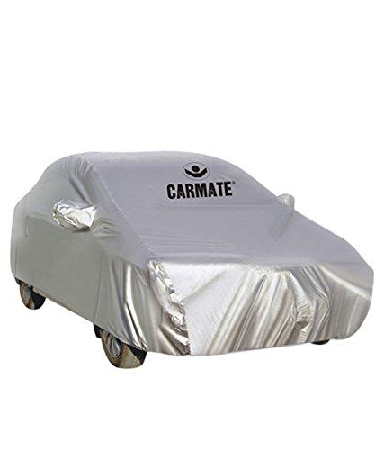 Car Mate Parx Car Body Cover for Skoda Rapid (Silver)