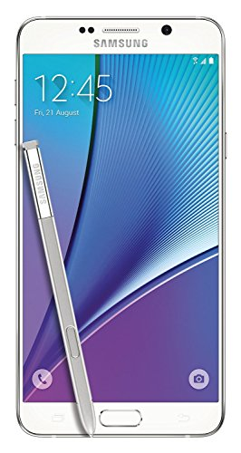 Samsung Galaxy Note 5 32GB N920P Sprint - White Pearl (Certified Refurbished)