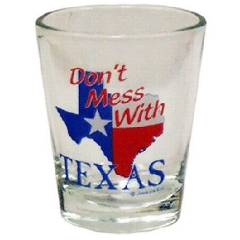 Bulk Buys Texas Shotglass DoNt Mess With Texas - Case of 96 by DDI