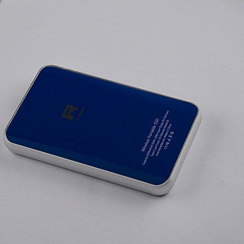 iRecadata i8 External Solid State Drive 128GB, Wireless WiFi Portable SSD, USB3.1 Type-C, WiFi Portable Router, 2250mAh Power Bank by irecadata (Image #3)