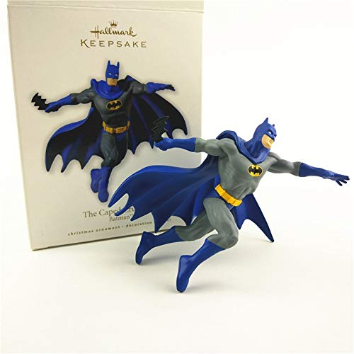 HOLLUK 1Piece The Caped Crusader Christmas Tree Ornament