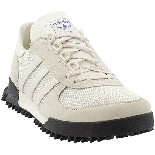 adidas Mens Marathon Trainer Casual Sneakers Shoes, Beige, 14