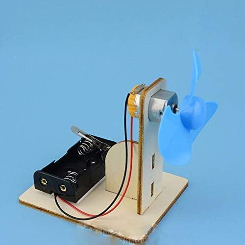 子供物理学DIY手作りの扇風機実験モデル技術少量生産材料子供のおもちゃ