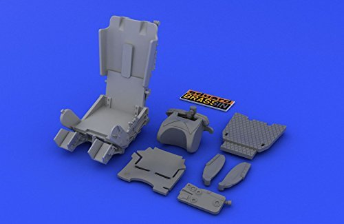 EDU648209 1 48 Eduard Brassin MiG21MFN Fishbed Ejection Seat Set (for use with the Eduard model kit) [MODEL KIT ACCESSORY] by Eduard