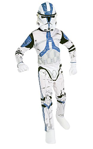 Star Wars Child's Clone Trooper Costume, (Star Wars Clone Troopers Costumes)