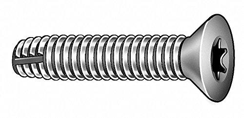 2-1/4' Hardened Steel Thread Cutting Screw with Flat Head Type; PK50