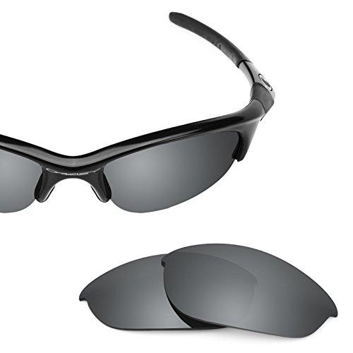 Revant Polarized Replacement Lenses for Oakley Half Jacket Black Chrome MirrorShield