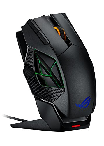 ASUS ROG Spatha RGB Wireless/Wired Laser Gaming Mouse (ROG Spatha Gaming Mouse) - Flash Mouse Scroll