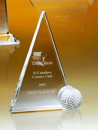 Optical Crystal Peak Award - 5