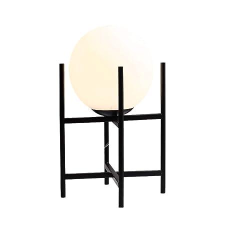 HKJCC Lámpara de Mesa nórdica Simple Sala de Estar Mesa de café ...